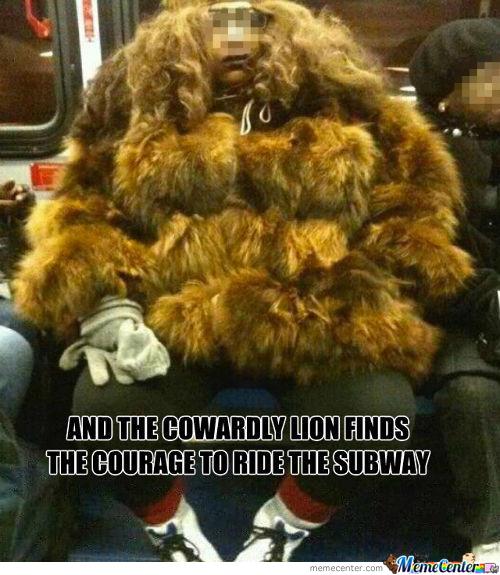 Wookie What I Found On The Subway!