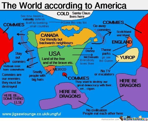 World According To America