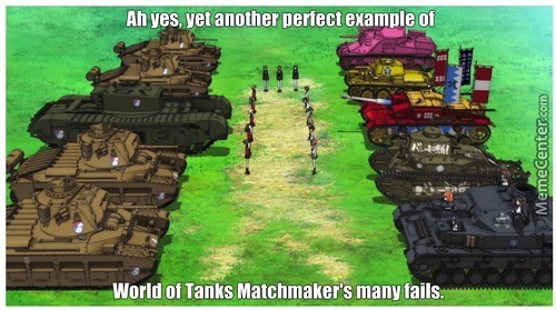 world of tanks matchmaking bullshit My patreon page support me with a donation.