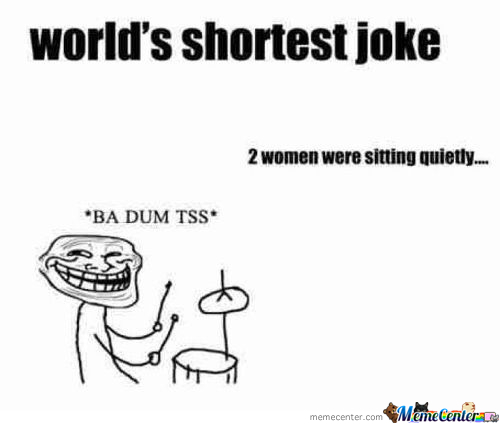World's Shortest Joke !