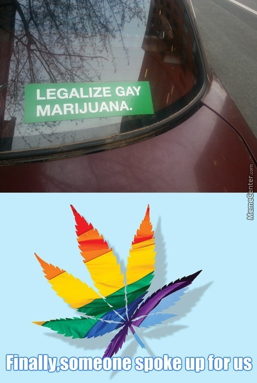 Would It Make Me Gay If I Smoked Gay Marijuana