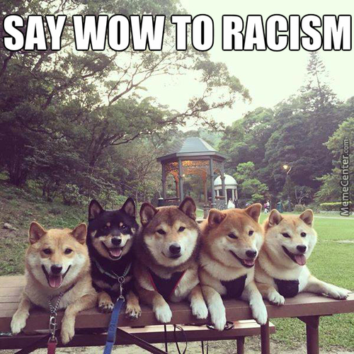 Wow, Much Tolerant, Such Equality