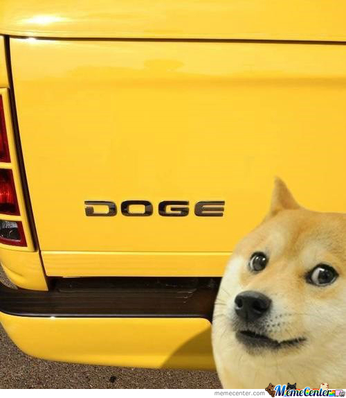 Wow. Such Car. Much Fast.