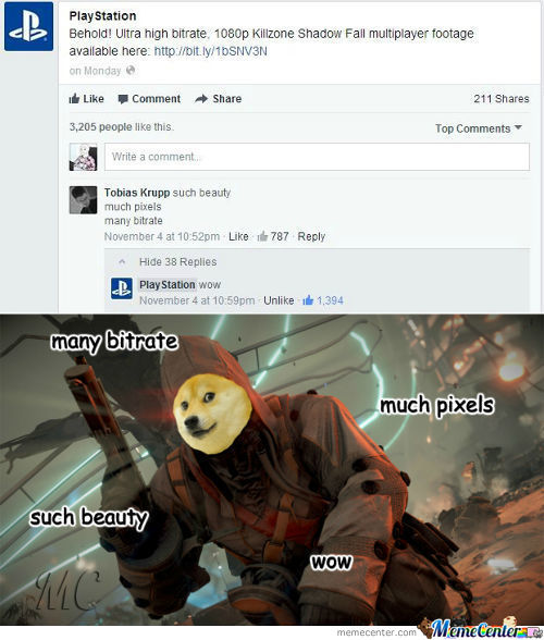 Wow Such Comment Very Likes