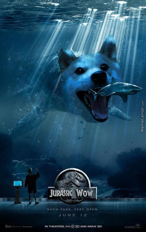 Wow, Such Dogesaur, Much Scare