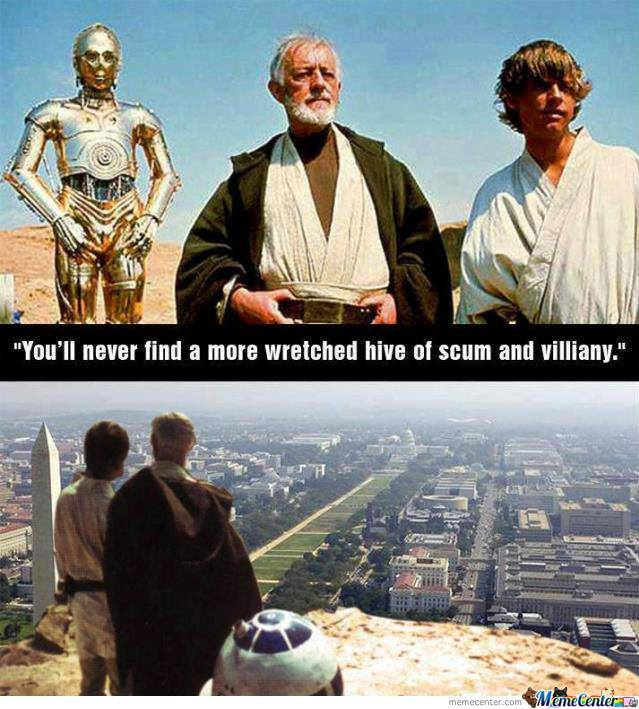 Wretched Hive Of Scum And Villiany