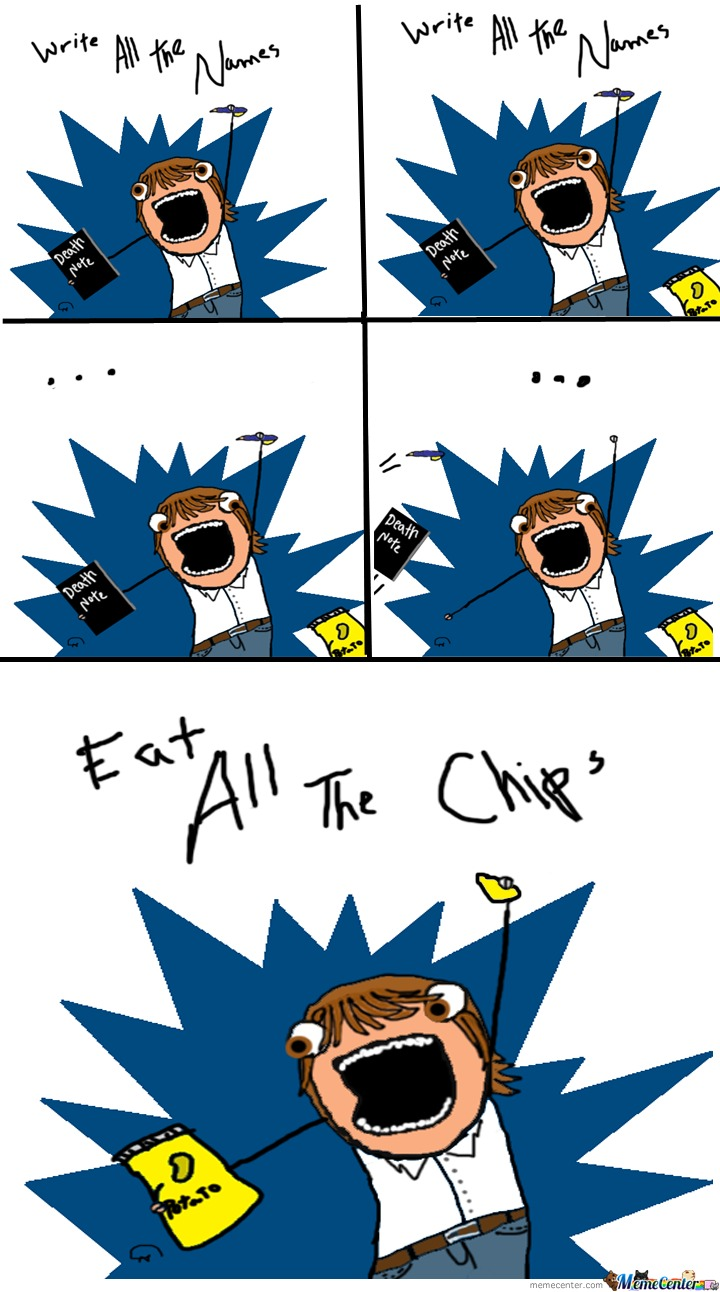 Write All The .... Chips