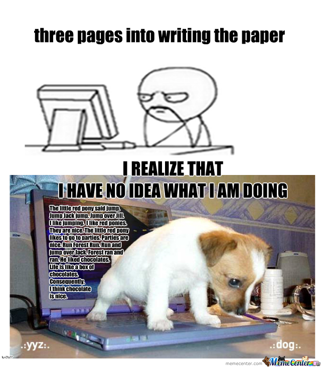Writing Papers--Meh