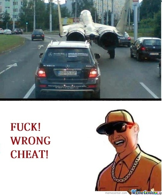 Wrong Cheat!