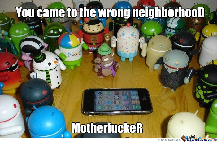 Wrong Neighborhood Motherf***er !
