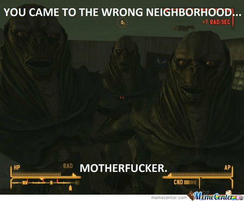 Wrong Neighborhood!