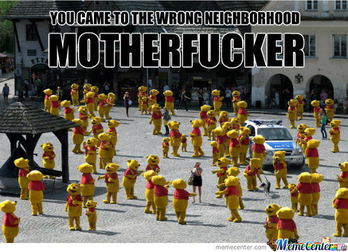 Wrong Neighborhood.