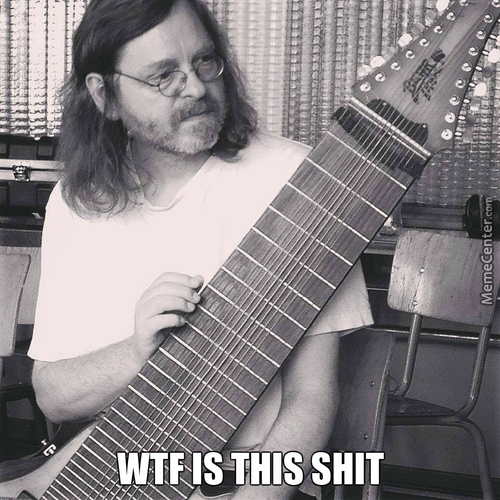 Wtf Man!! I Get Confused With Just One String Bro!