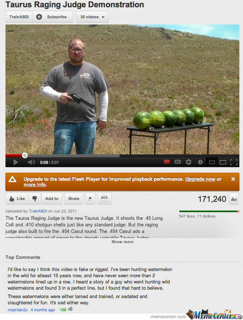 Wtf, Tainted Watermelons?