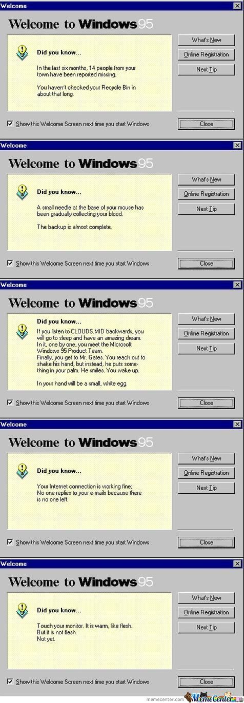 Wtf Windows 95 ?!