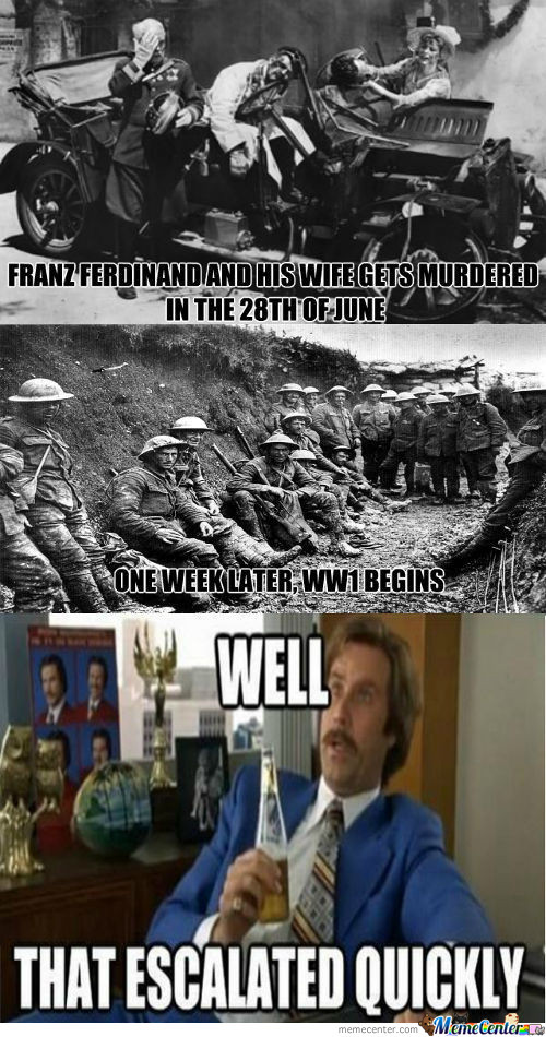 Ww1 Escalated Quickly