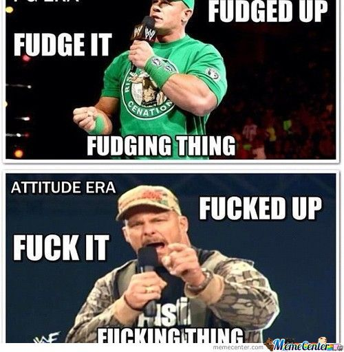 Wwe  Pg Era Vs Attitude Era
