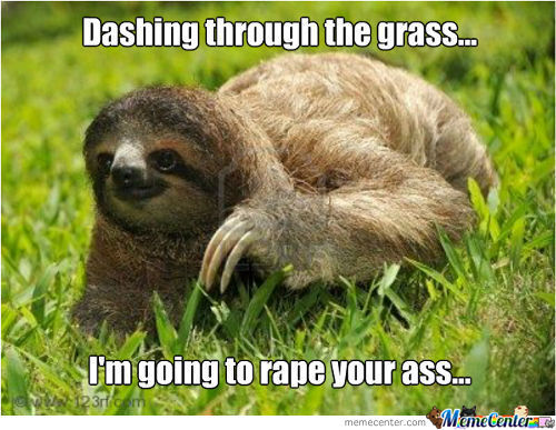 X-Mas Rape Sloth