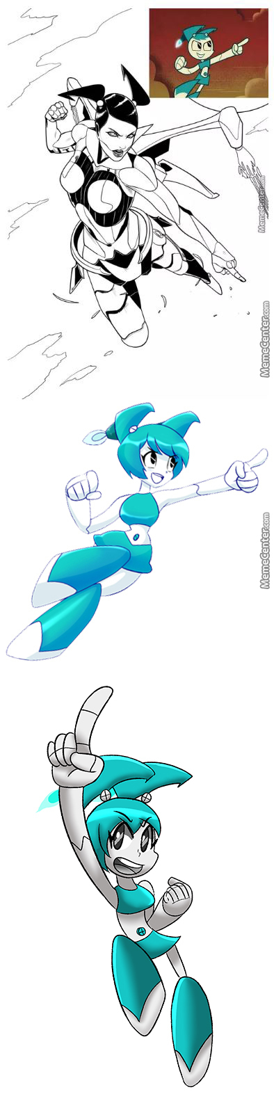 "Xj9 ""jenny"" From ""my Life As A Teenage Robot"" [Rmx] [Rmx]"
