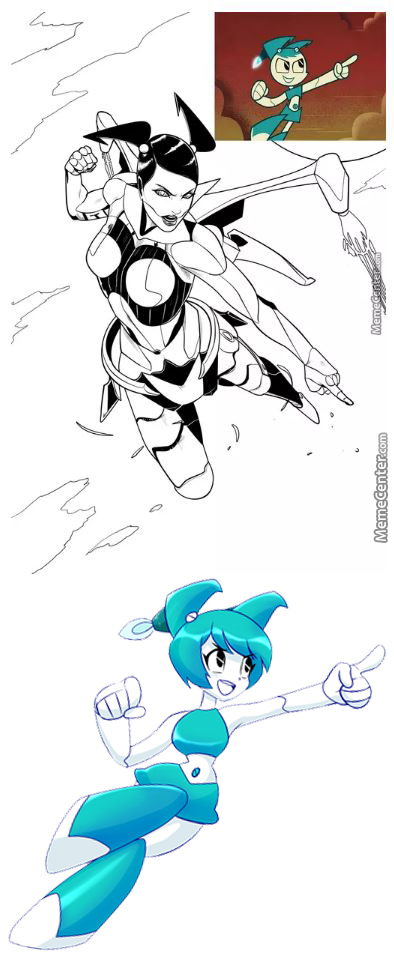 "Xj9 ""jenny"" From ""my Life As A Teenage Robot"" [Rmx]"