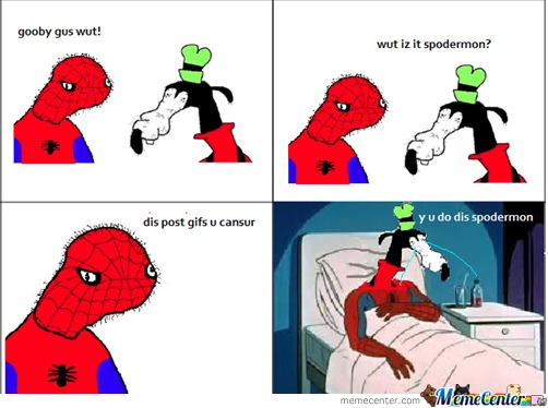 Y Spoderman?