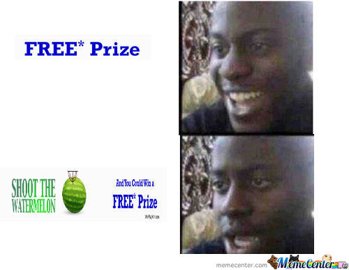 Free Prize Ad