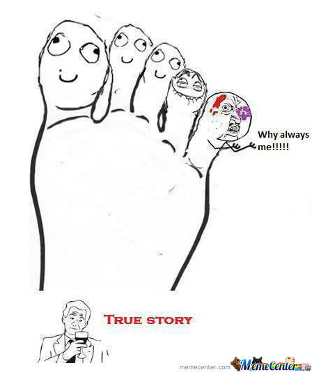 Y U No Hit Another Toe !?
