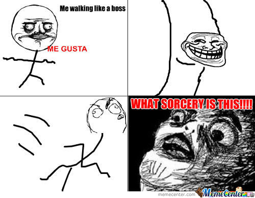 Y U No Let Me Walk!