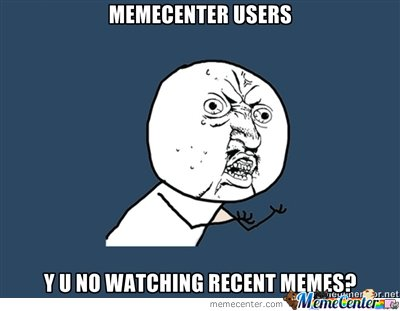y u no recent posts?