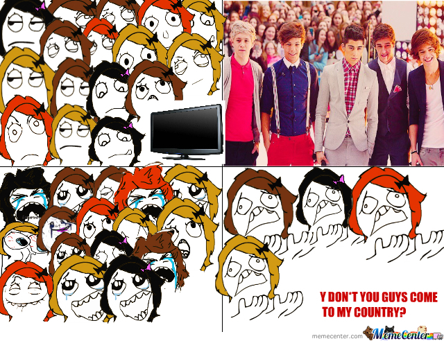 Y U So Hot? One Direction Infection