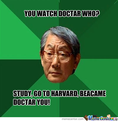 Y U Watch Duh Docta Who?