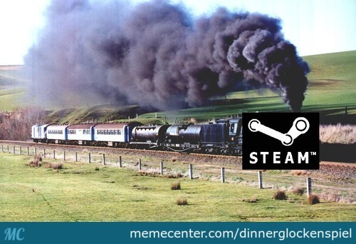 Ya Know Cause Its Actually Called A Steam Train :d By The Way Thanks Thefarcaspaul