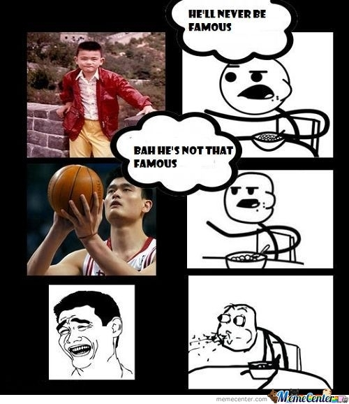 Yao Strikes Again