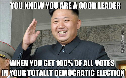 Yay For North Korean Democracy!