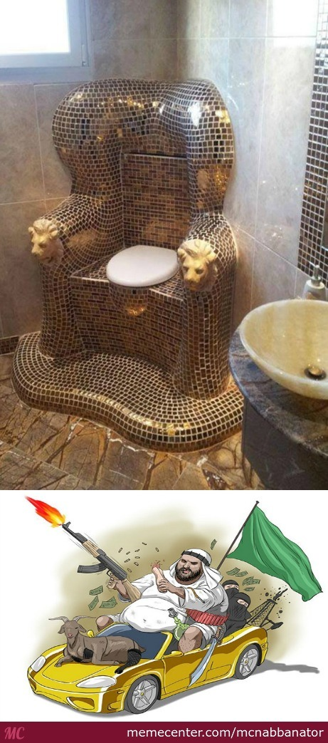 Ye Ol' Gold Throne