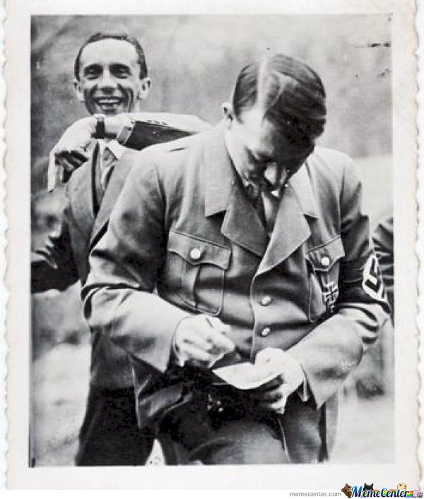 Yes, Even Hitler Got Photobombed
