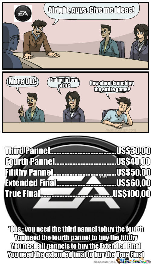 Yes, Memecenter Was Bought By Ea Games! That's How All Our Memes Are Gonna Be Like From Now On!