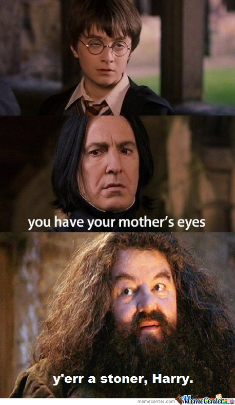 Yes, Your Mother's Eyes