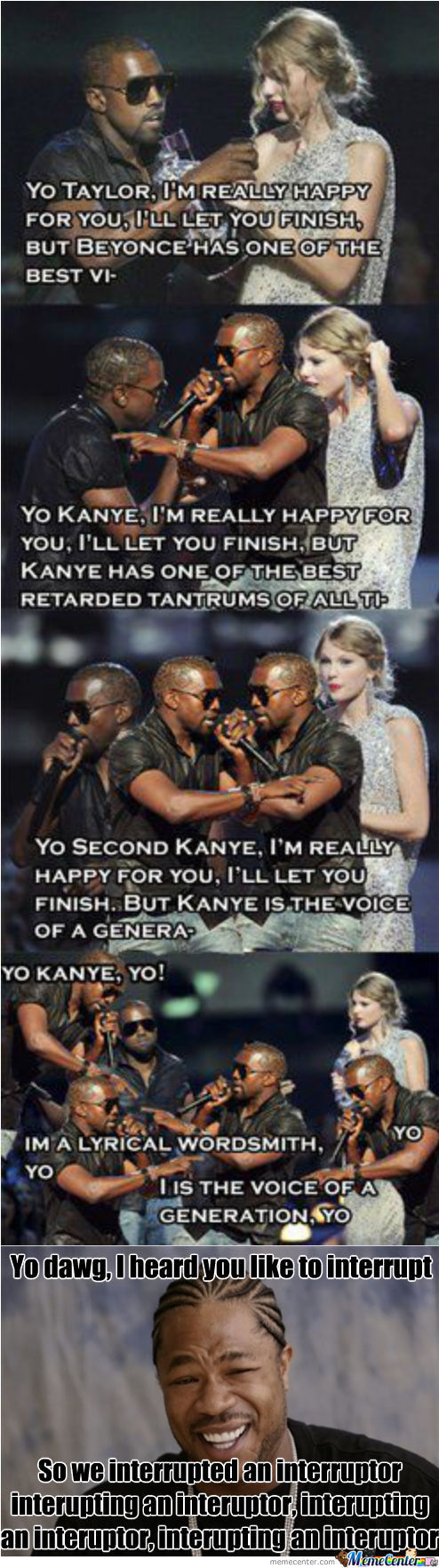 Yo Daw- Imma Let You Finish But...