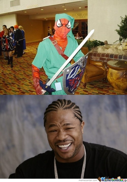 Yo Dawg I Heard You Like Cosplay