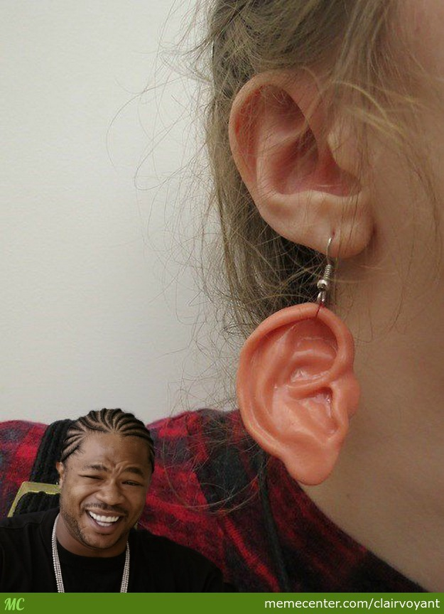 Yo Dawg I Heard You Like Earrings