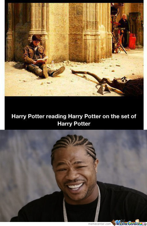 Yo Dawg I Heard You Like Harry Potter...