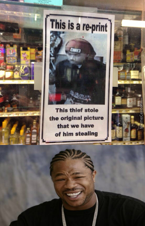 Yo Dawg, I Heard You Like Stealing