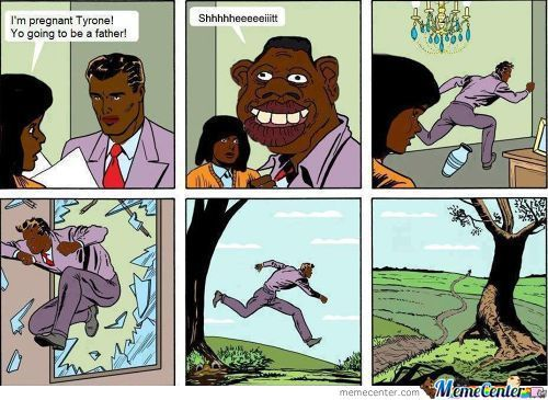 Yo Going To Be A Father Tyrone