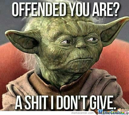 Yoda Telling How It Is