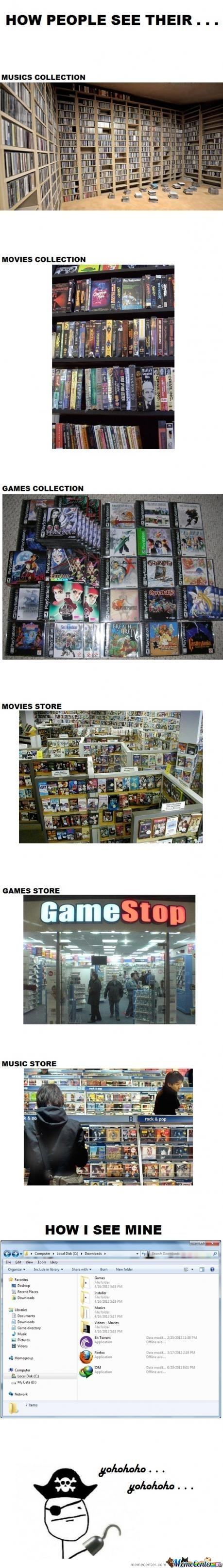 Music, Movies and Game Collections