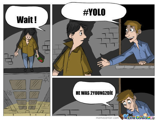 #yolo #swag..haha Just Kiddin