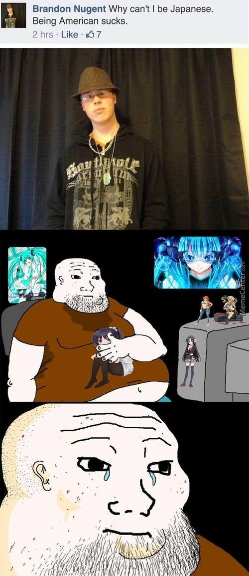 You'll Never Be In Anime World