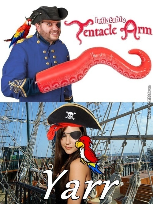 You Are A Pirate