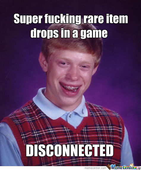 Super rare item drops